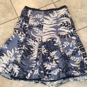 Ann Taylor linen skirt